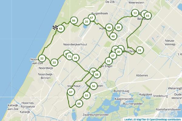 Fietsroute Bloembollenstreek - Fietsnetwerk