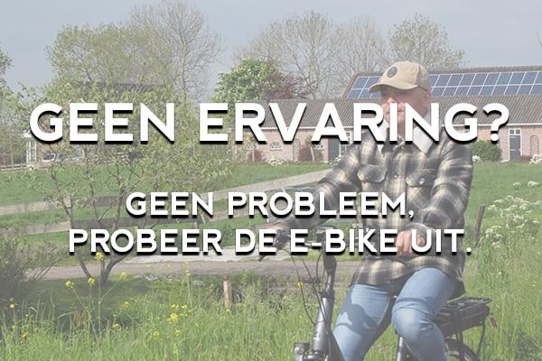 Wat te doen als je geen ervaring met het fietsen met een elektrische fiets hebt? Geen probleem, bij fietsverhuur EasyFiets kun je de e-bike uitproberen voordat je gaat fietsen.